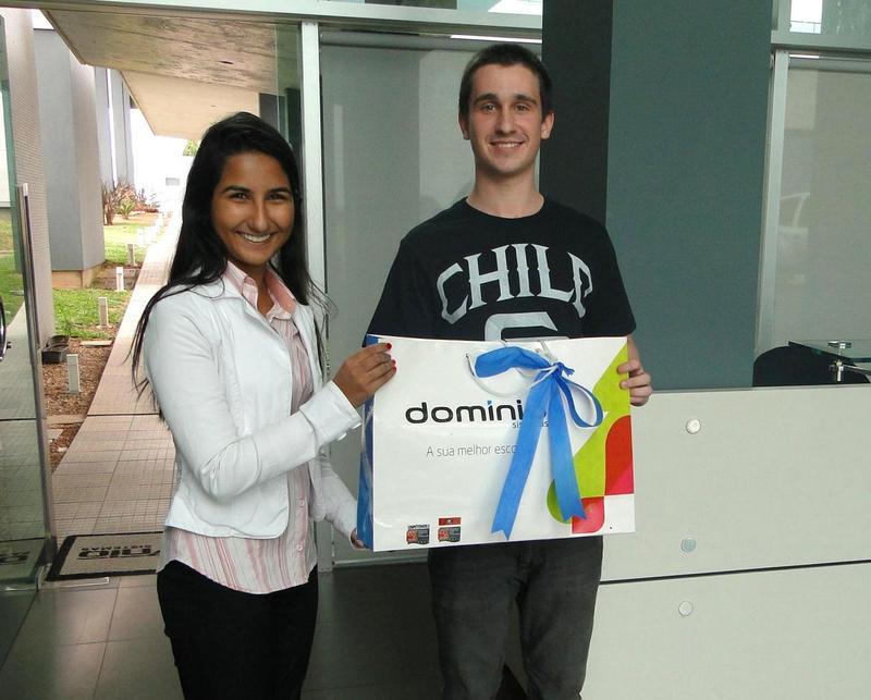 Gabriel de Freitas foi o vencedor do Concurso Cultural