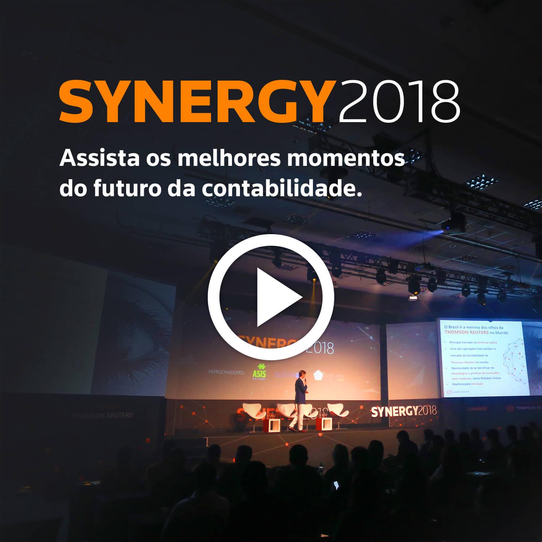 SYNERGY2018. Onde a inovação e a tecnologia conectam você ao futuro da Contabilidade.