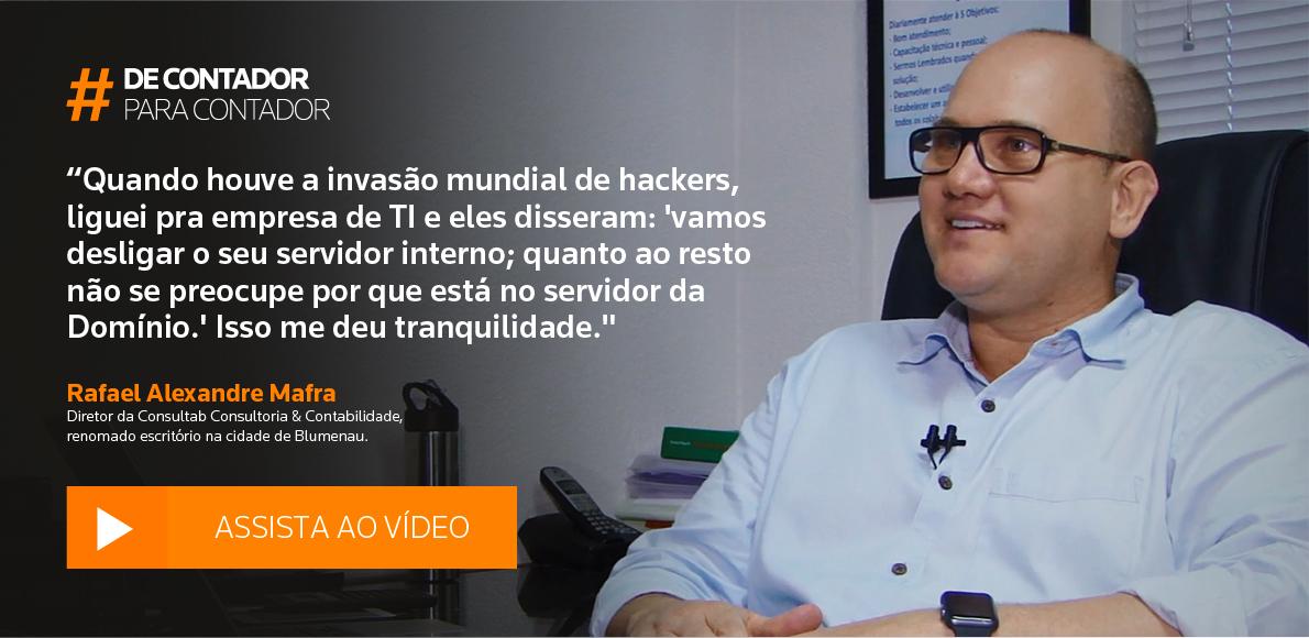 Vídeo depoimento Rafael Mafra