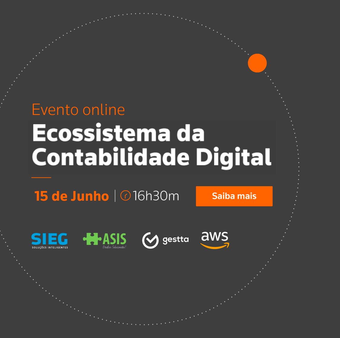 Ecossistema para a contabilidade digital - Evento Online