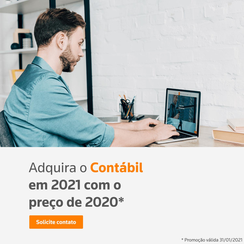 Adquira o Contábil em 2021 com o preço de 2020*