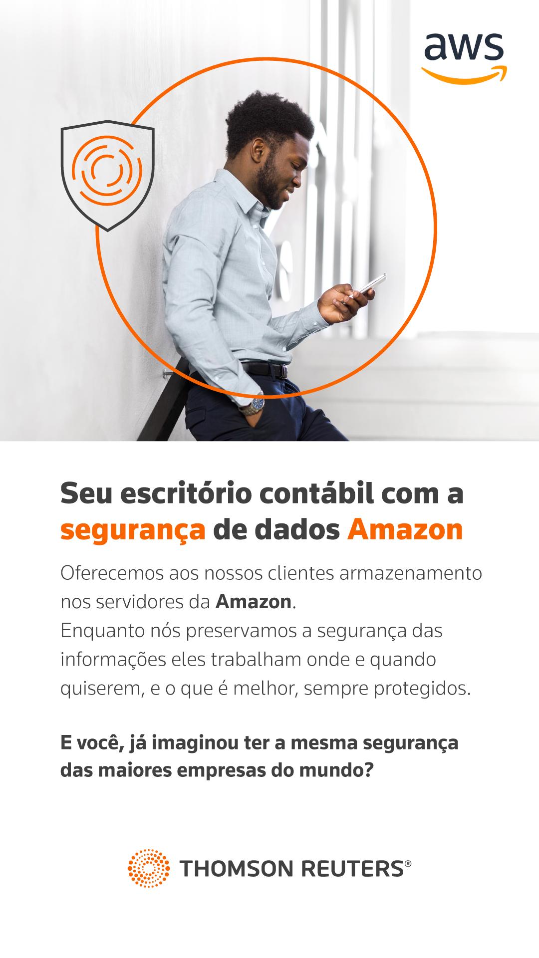 Seu escritório contábil com a segurança de dados Amazon