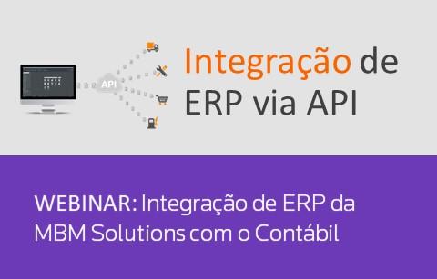 Integração do ERP da MBM Solutions com o Contábil.