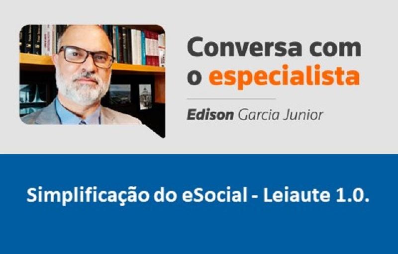 Simplificação do eSocial – Leiaute 1.0.