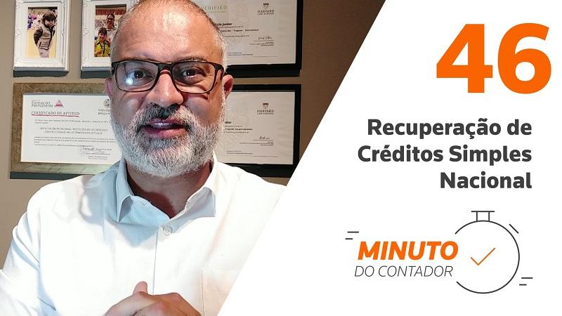 Recuperação de Créditos Simples Nacional